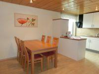 Küchenbereich der Ferienwohnung
