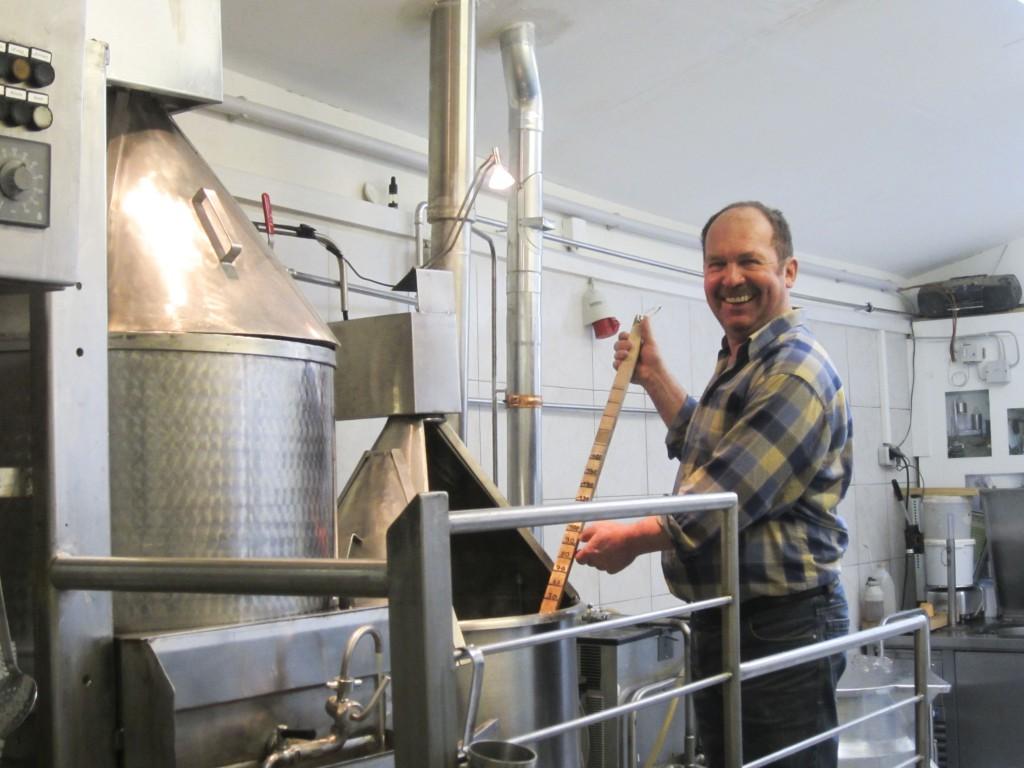 Pension Karin - Blick in die Brauerei