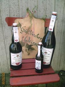 Pension Karin - Güßbacher Zwickl - Verschiedene Flaschengrößen